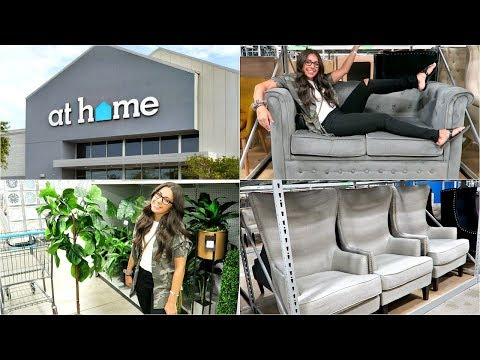 SHOP WITH ME 2018! AT HOME DECOR AND FURNITURE SUPERSTORE!