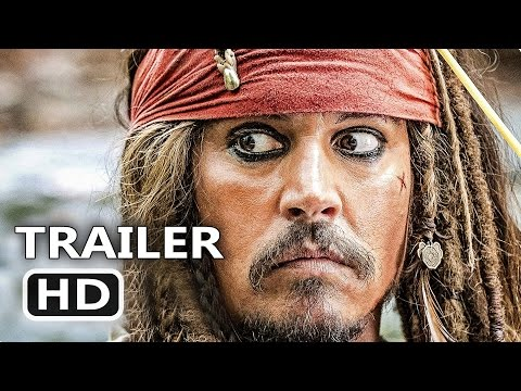 Thumbnail: PIRATES OF THE CARIBBEAN 5 All Trailers (2017) Dead Man Tell No Tales, Disney 4K Movie HD