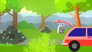 Відеоролик для дітей про шкідливість сміття