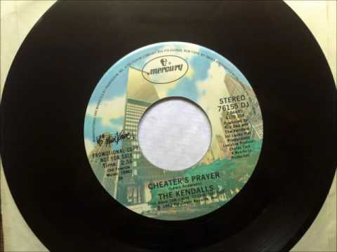 Cheater's Prayer , The Kendalls , 1982 45RPM