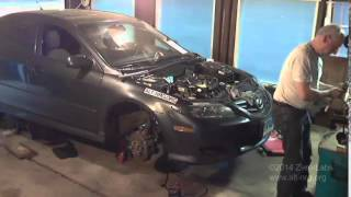 #362 Mazda 6 engine swap time lapse