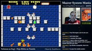 Master System Mania - 20/370 Solomon no Kagi - Oujo Rihita no Namida (Part 4)