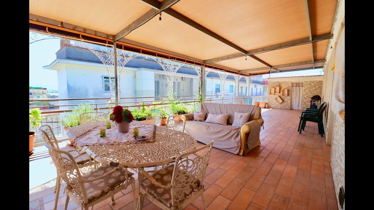 Case Con Terrazzo Roma appartamento attico quadrilocale con terrazzo in vendita a napoli - via  cardinale capecelatro -