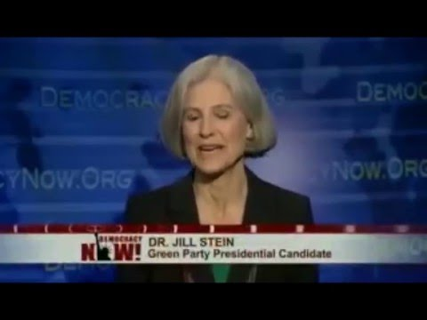 DemocracyNow! Expanded 2nd President Debate 10/17 w/ Rocky Anderson, Jill Stein