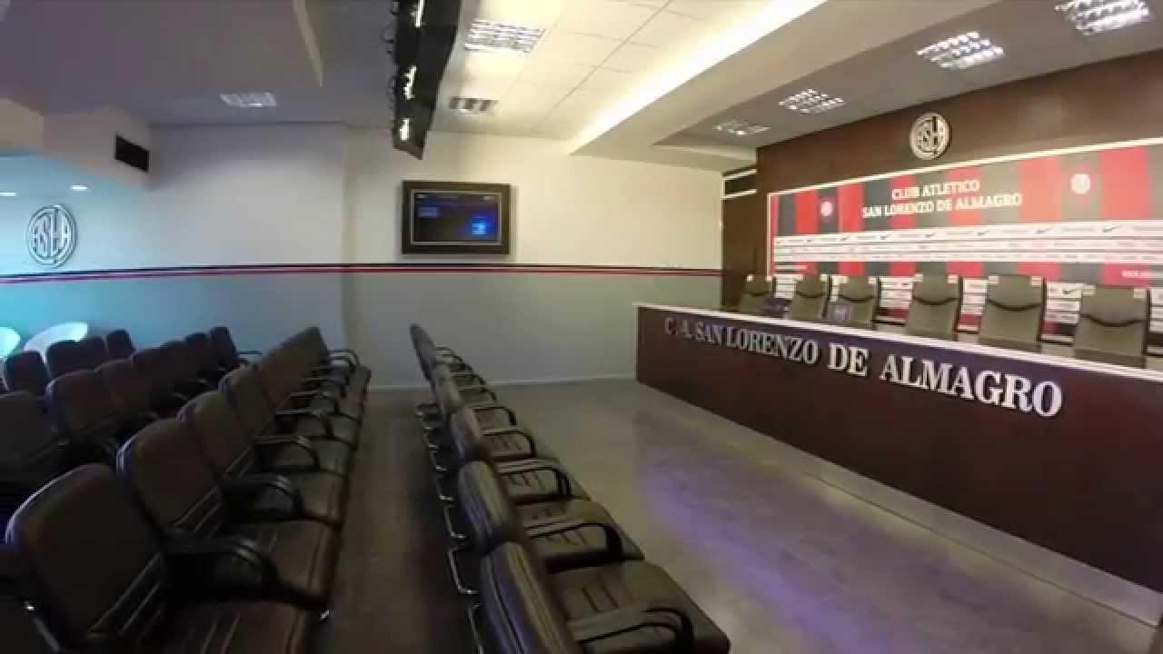 nueva sala de prensa de san lorenzo osvaldo soriano