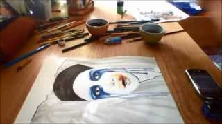 Baixar Speed drawing - Lady Gaga, Applause cover (made by @dennyvitaliart)