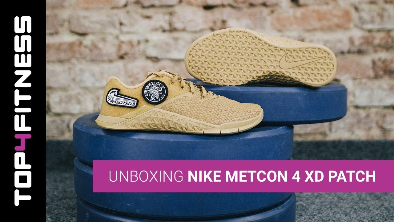 Nike Metcon 4 XD Patch | Unboxing - YouTube