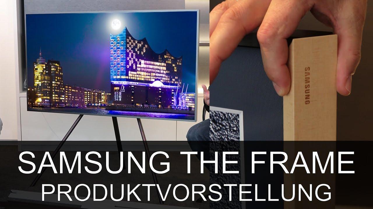 Samsung LS003 The Frame TV Bilderrahmen - Produktvorstellung ...