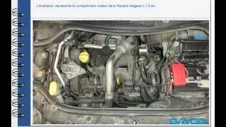 Montage kit de distribution Renault Megane II 1.5 dci Moteur: K9K 732