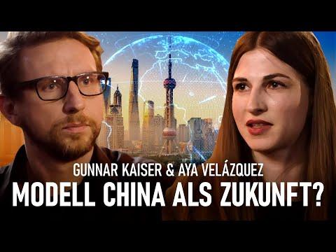 Uns wird China als die Zukunft verkauft - Aya Velázquez im Gespräch