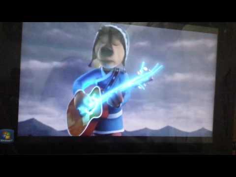 Rock Dog Bodi's guitar power