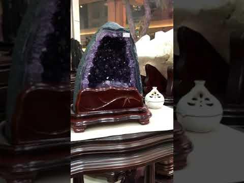 12高品紫水晶洞