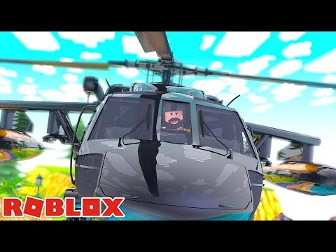 $1 MILLION MILITARY HELICOPTER UPDATE!!   Jailbreak   ROBLOX LIVE