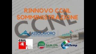 NUOVO CCNL SOMMINISTRAZIONE