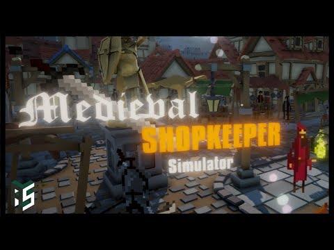 Let's Play Medieval Shopkeeper Simulator  -Pixel Spank  