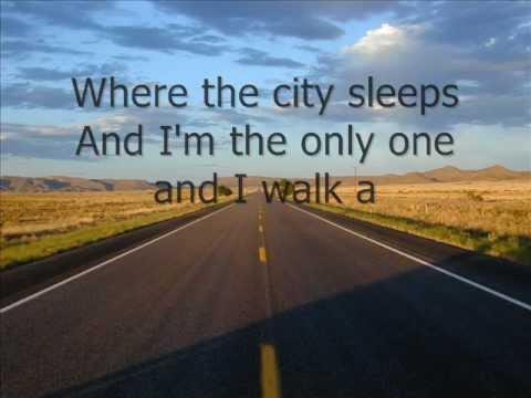 boulevard of broken songs lyrics