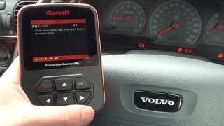 Volvo i906 Diagnose an ABS Warning Light Sensor Fault Code