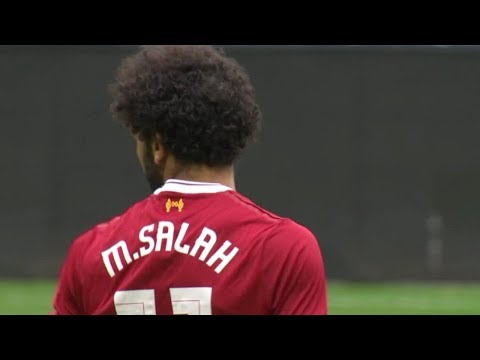 Mohamed Salah Vs Wigan (Liverpool Debut) HD 720p (14/07/2017)