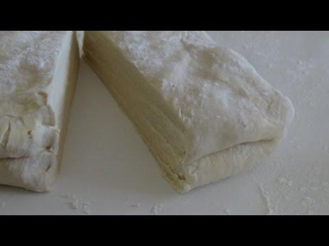 pâte-feuilletée-escargot-sans-beurre-de-feuilletage-/-عجينة-التوريق-الحلازونية-بدون-زبدة-التوريق