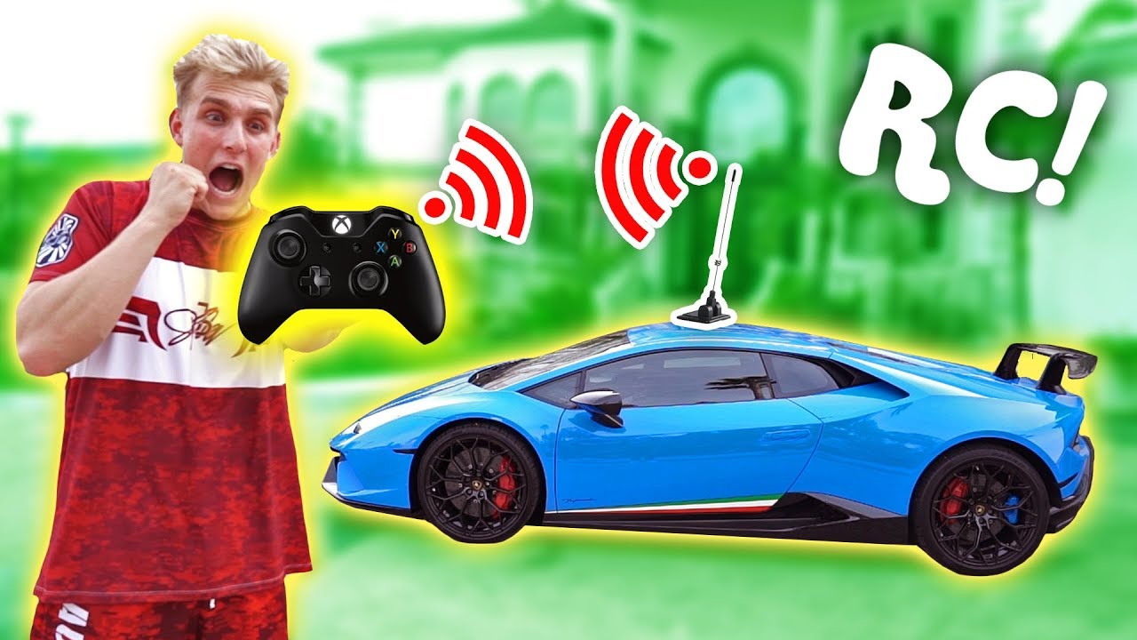 I Made My Lamborghini Remote Controlled Insane Youtube
