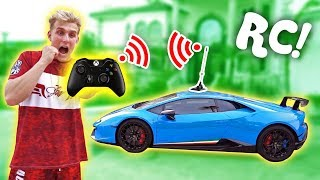 Download I MADE MY LAMBORGHINI REMOTE CONTROLLED!! (INSANE) Mp3 and Videos