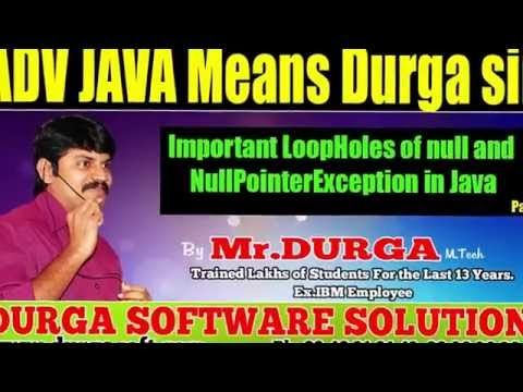 Important LoopHoles of null and NullPointerException in Java Part  - 1