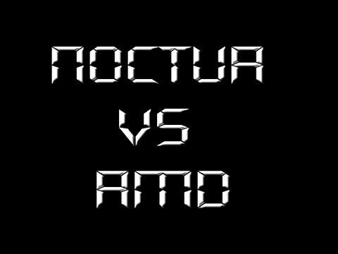 Noctua NH-U12S VS AMD Stock CPU Cooler