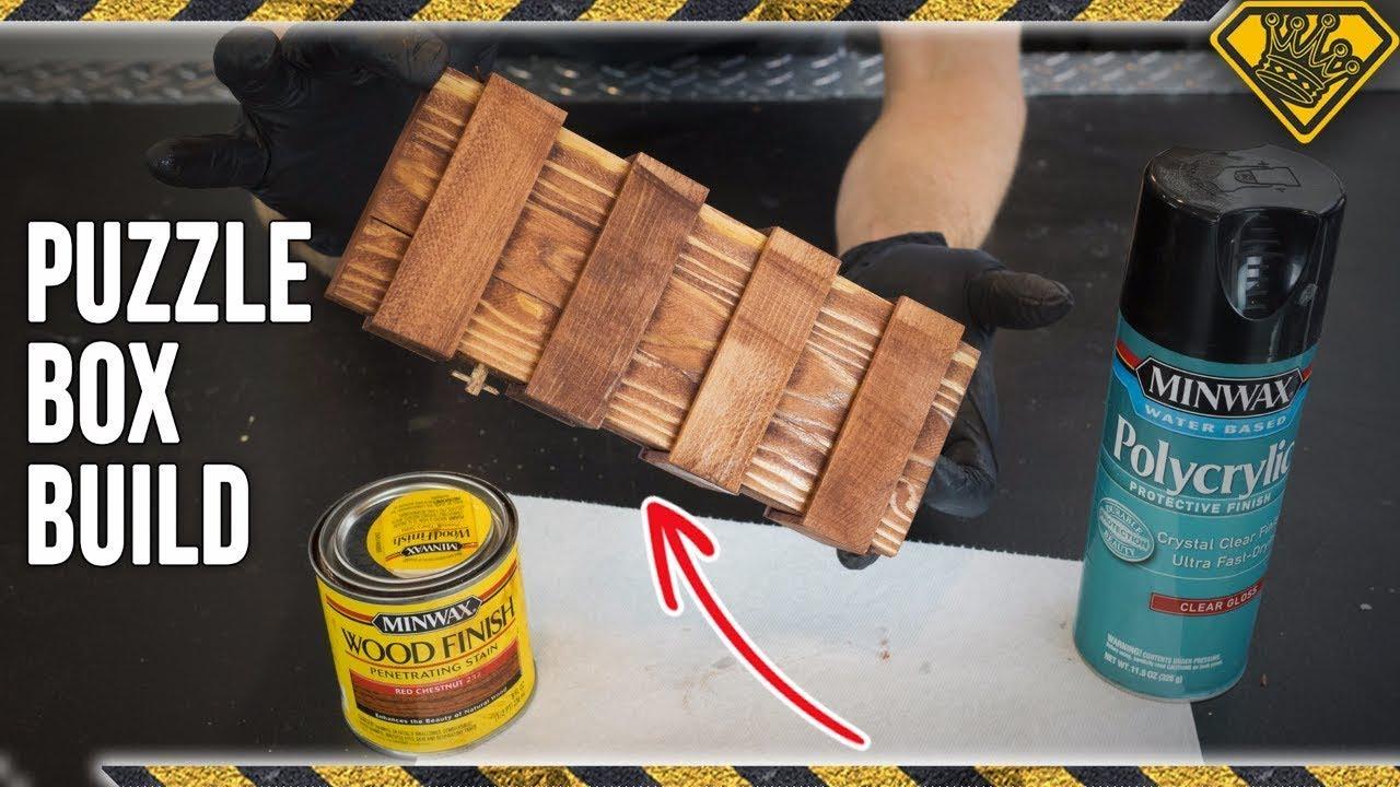 Diy paint stick puzzle box youtube diy paint stick puzzle box solutioingenieria Images