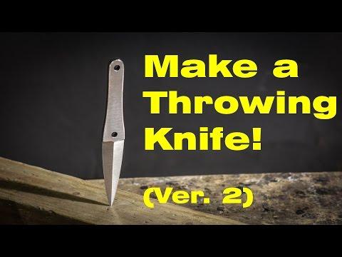 Make a Throwing Knife - Version 2