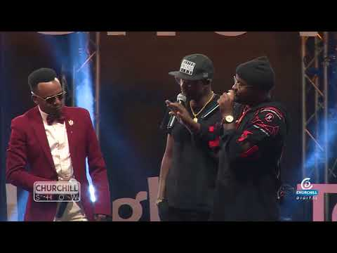 P-UNIT Reunites on Churchill Show