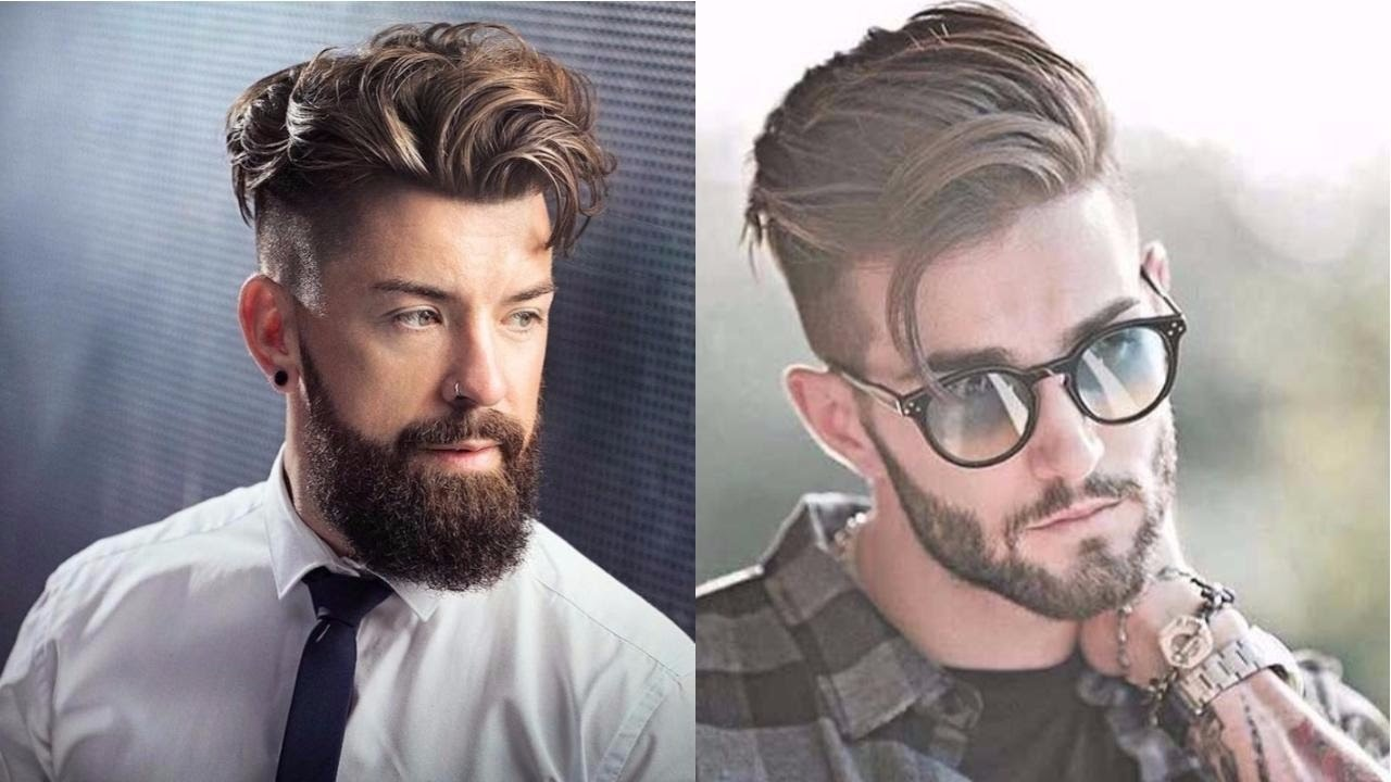 The Most Newest And Top Hairstyle For Men 2017 2018: 10 New Super Sexy Hairstyles For Men 2017-2018-New