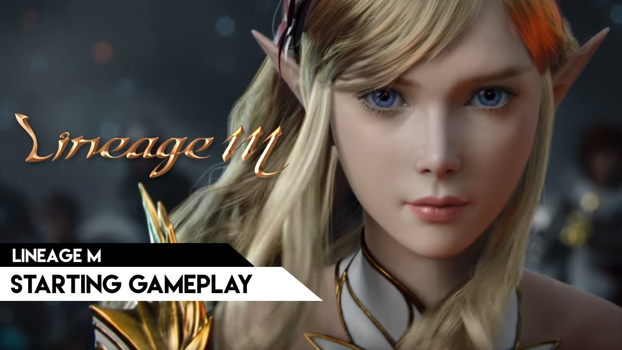 Lineage M (KR) - Starting gameplay