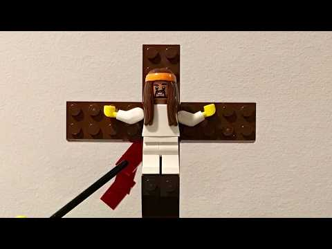 Lego Stations of the Cross  by the Lil Evangelizers