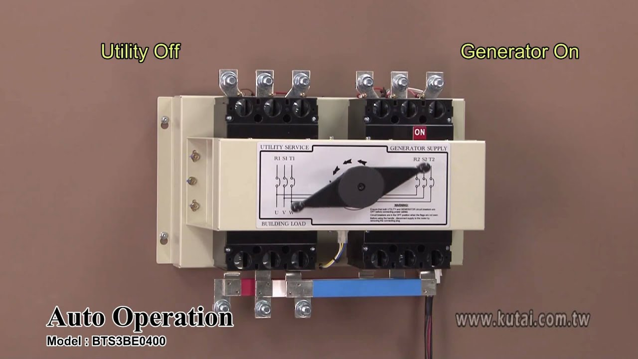 Automatic Transfer Switch Panelautomatic Transfer Switches Manual