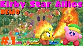 kirby star allies cave & castle stage
