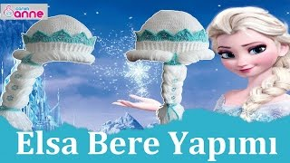 Elsa Örgü Bebek Beresi Yapımı