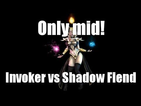видео: only mid 1 на 1 dota 2 [invoker vs shadow fiend]