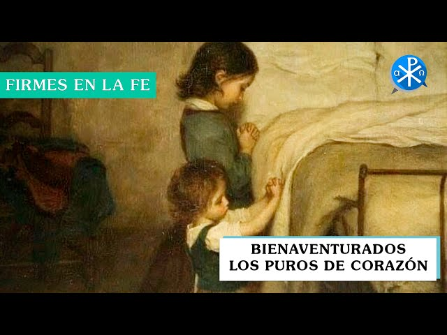 Bienaventurados los puros de corazón | Firmes en la fe - P Gabriel Zapata
