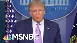 Trump Dinged By Social Media For 'Harmful COVID Misinformation'   Rachel Maddow   MSNBC