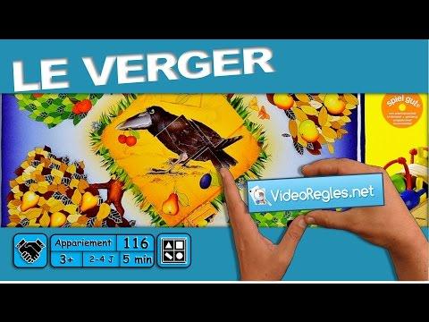 """La vidéorègle du jeu """" Le Verger """" par Yahndrev (#116)"""