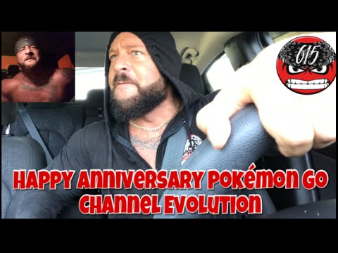Happy Anniversary Pokémon Go | Channel Evolution