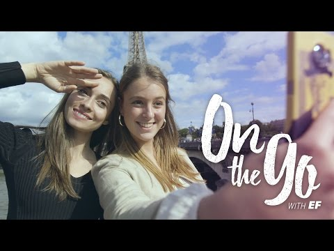 On the go with EF #2 – Maria & Philippine cruise to the Eiffel Tower