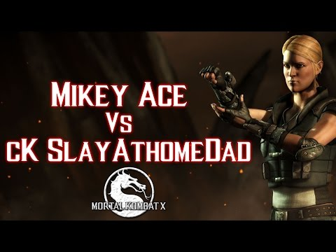 CAN THE STREAK COME TO AN END?? | Mikey Ace (Sonya) vs cK SlayAtHomeDad (Ermac) | Mortal Kombat X
