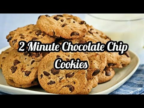 Make Cookies In The Microwave 🍪