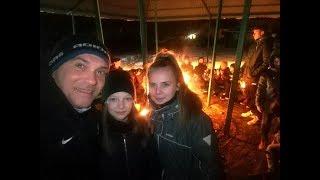 CZ29-Szabełki na Obozie z Iskrą Kochlice-Głuchołazy 2019-Ognisko-Urodziny Tymka
