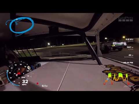 Jeff Crouse Racing.  KRA Speedway.  9/22/17.  Street Stocks