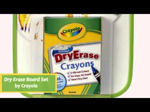 Dry Erase Board Set by Crayola 9886380006