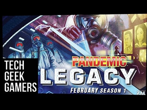 Let's Play Pandemic Legacy Season 1 February - Board Game Play Through