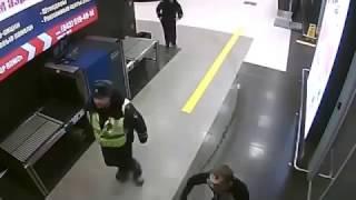 Заезд пьяного лихача по аэропорту Казани