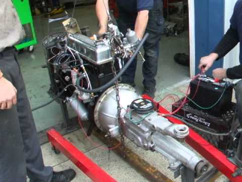 Triumph Tr3 Starting A Tr3 Engine For The First Time
